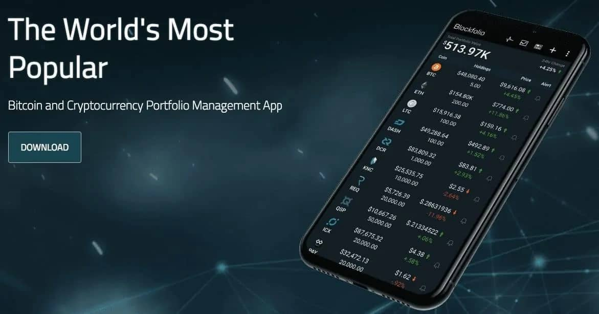 Crypto các công cụ theo dõi danh mục đầu tư